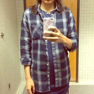 Women's Levi's button down flannel